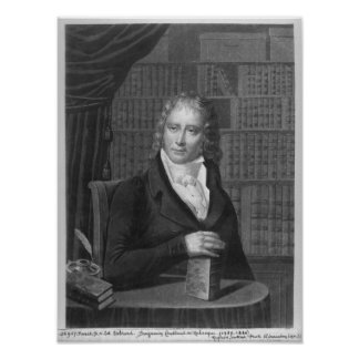 Henri Benjamin Constant de Rebecque Poster