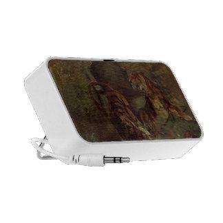Henri de Lautrec- Allegory Springtime of Life iPod Speaker