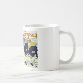 Henri de Toulouse La Chaine Simpson Basic White Mug