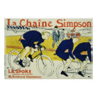 Henri de Toulouse La Chaine Simpson Poster