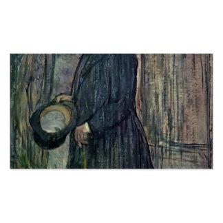 Henri de Toulouse-Lautrec- Henri Dihau Business Cards