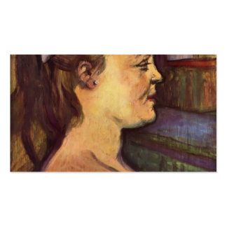 Henri de Toulouse-Lautrec: Housewife Business Card Templates