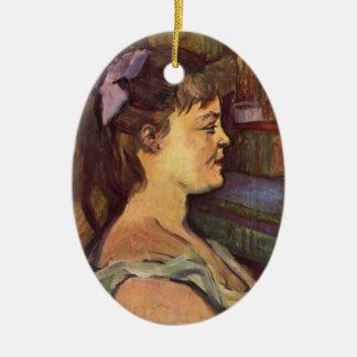 Henri de Toulouse-Lautrec: Housewife Christmas Ornament