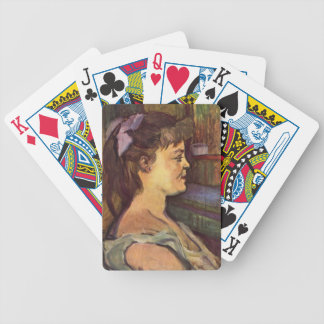 Henri de Toulouse-Lautrec House wife Poker Cards