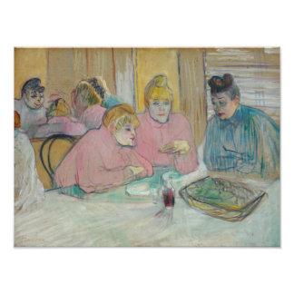 Henri de Toulouse-Lautrec - Ladies in Dining Room Photo
