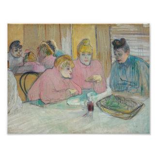 Henri de Toulouse-Lautrec - Ladies in Dining Room Photographic Print