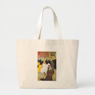 Henri de Toulouse Lautrec Moulin Rogue Jumbo Tote Bag