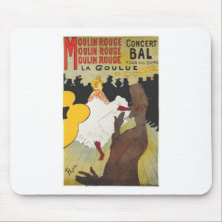 Henri de Toulouse Lautrec Moulin Rogue Mouse Pad