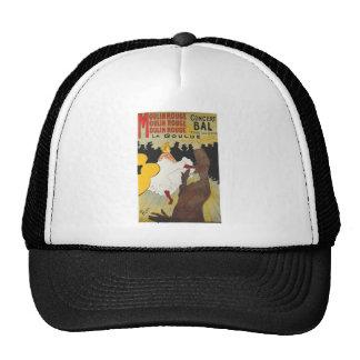 Henri de Toulouse Lautrec Moulin Rogue Trucker Hat