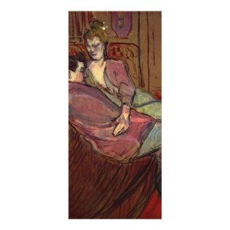 Henri de Toulouse-Lautrec- The Two Friends Custom Rack Card
