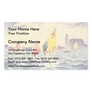 Henri-Edmond Cross- Sailboats near Chicago Pack Of Standard Business Cards
