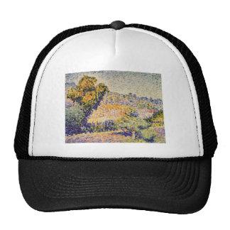 Henri-Edmond Cross- The Pink House Mesh Hat