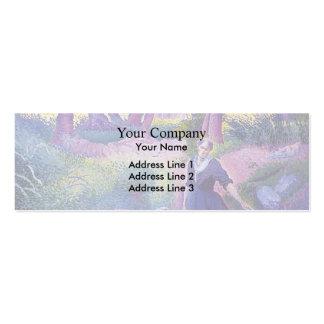 Henri-Edmond Cross- The Washerwoman Business Card Templates