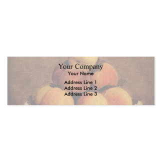 Henri Fantin-Latour- Peaches Business Card Template