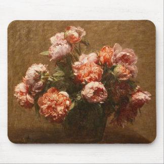 Henri Fantin-Latour Vase of Peonies Mouse Pad