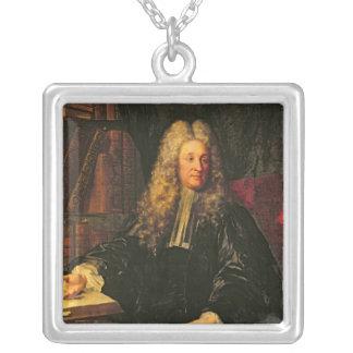 Henri-Francois d'Aguesseau Silver Plated Necklace