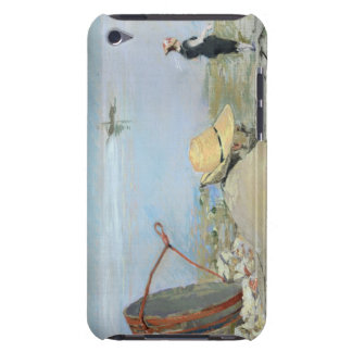 Henri Guerard Relaxing on the Beach (pastel on can iPod Touch Cases