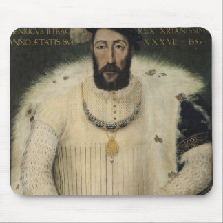 Henri II , King of France, 1555 Mouse Pad