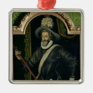 Henri IV  King of France and Navarre, c.1595 Christmas Ornament