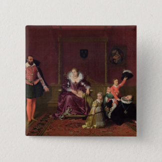 Henri IV  King of France and Navarre Playing 15 Cm Square Badge