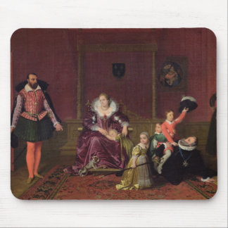 Henri IV  King of France and Navarre Playing Mouse Mat