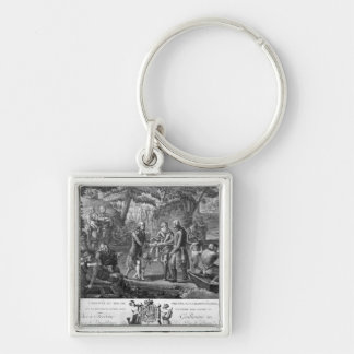 Henri IV  reconciling Frederick William II Key Ring