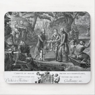 Henri IV  reconciling Frederick William II Mouse Mat