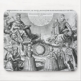 Henri IV with his Family 1607 Mouse Pads
