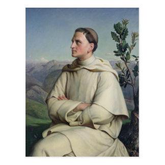 Henri Lacordaire  at Sorreze, 1847 Postcard