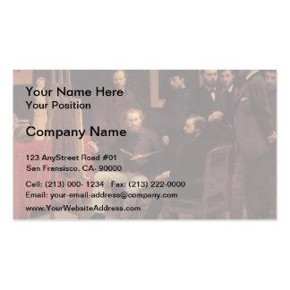 Henri Latour- A Studio in the Batignolles Pack Of Standard Business Cards