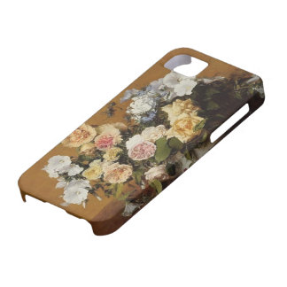 Henri Latour- Bouquet of Roses and Other Flowers iPhone 5 Covers