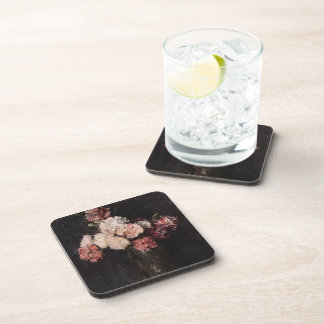 Henri Latour- Carnations in a Champagne Glass Coasters