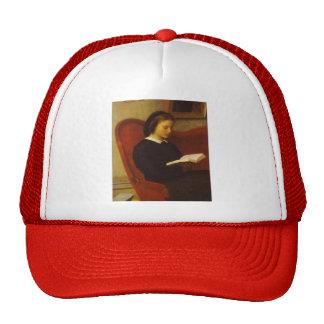 Henri Latour- The Reader Mesh Hats