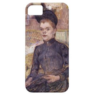 Henri Lautrec- Woman in a Black Hat iPhone 5/5S Case