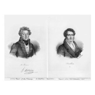 Henri Montan Berton  and Francois Adrien Postcard
