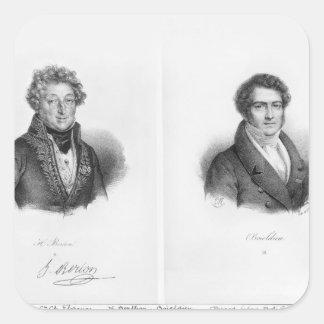 Henri Montan Berton  and Francois Adrien Square Sticker