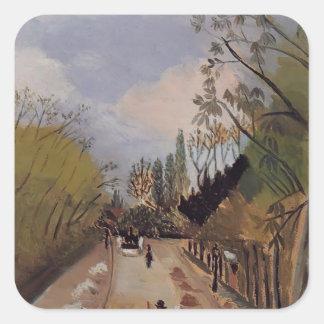 Henri Rousseau- Avenue de l'Observatoire Square Stickers