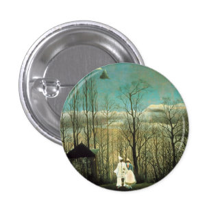 Henri Rousseau Carnival Evening Button