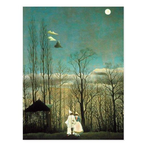 Henri Rousseau Carnival Evening Postcard