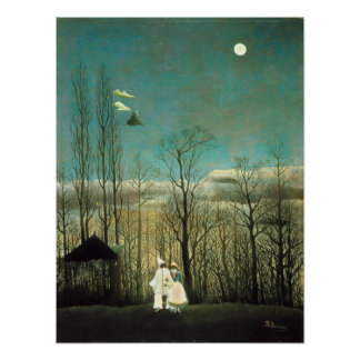 Henri Rousseau Carnival Evening Poster