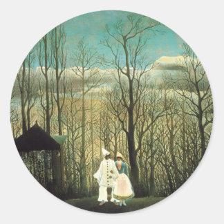 Henri Rousseau Carnival Evening Stickers