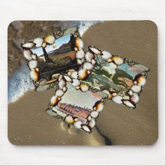 Henri Rousseau Collage Mouse Pad