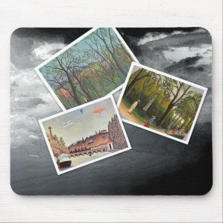 Henri Rousseau Collage Mousepads