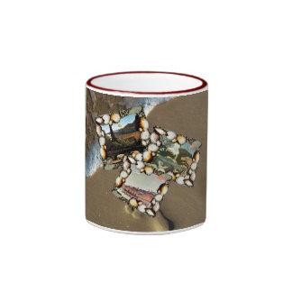 Henri Rousseau Collage Ringer Mug
