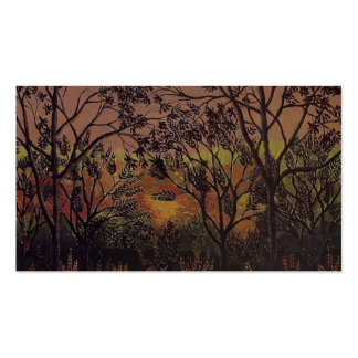 Henri Rousseau- Corner of the Plateau of Bellevue Business Cards