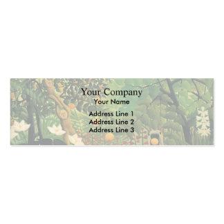 Henri Rousseau- Exotic Landscape Business Card