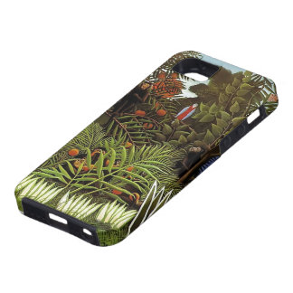 Henri Rousseau- Exotic Landscape iPhone 5 Case