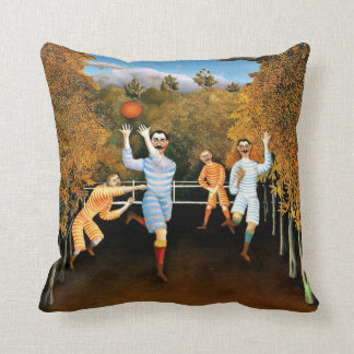 Henri Rousseau - Football Players Cushion