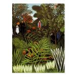 Henri Rousseau - Jungle Landscape
