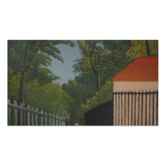 Henri Rousseau- Landscape in Montsouris Park Pack Of Standard Business Cards